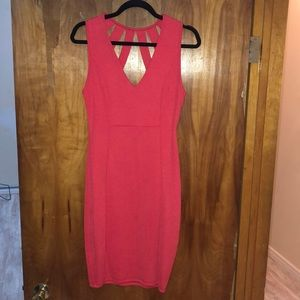 Coral Windsor dress